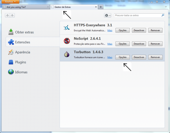 Configurando o navegador para Deep Web TOR